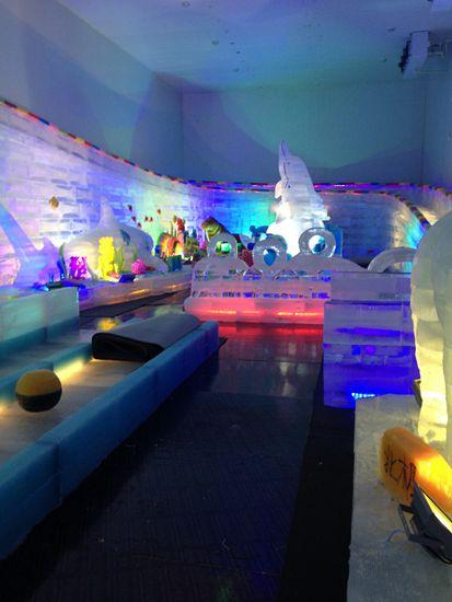 凤凰山海港乐园冰雪世界正式接待游客入场