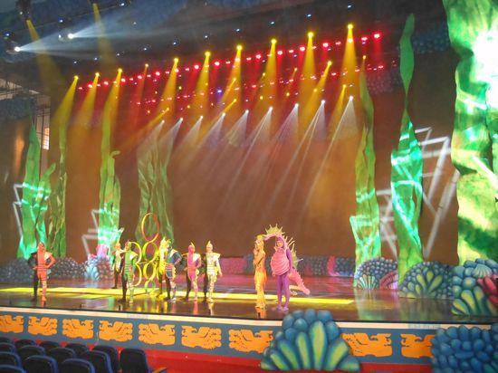 凤凰山海港乐园海洋剧场正式开演